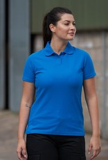 Pro RTX Dames POLOSHIRT piqué workwear grijs
