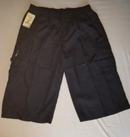 Little KHAKI HEREN SHORT knielang zwart