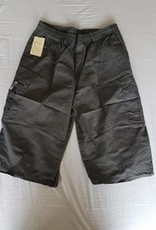 Little KHAKI HEREN SHORT knielang antraciete