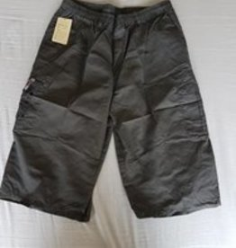 Little KHAKI HEREN SHORT knielang antraciet