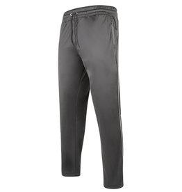 Kam Jeans JOGGINGBROEK glanzend met streep zwart
