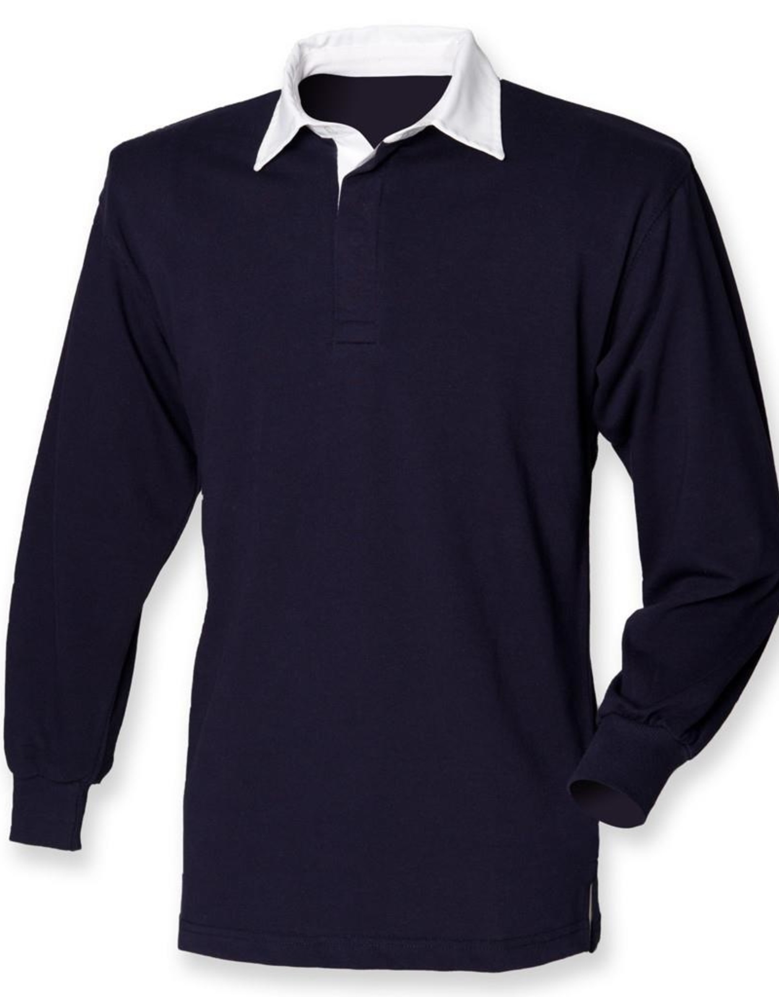 Front Row Collection RUGBY / POLOSWEATER heren - navy / wit