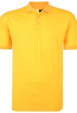 Kam Jeans SPORT POLO SHIRT glanzend - geel