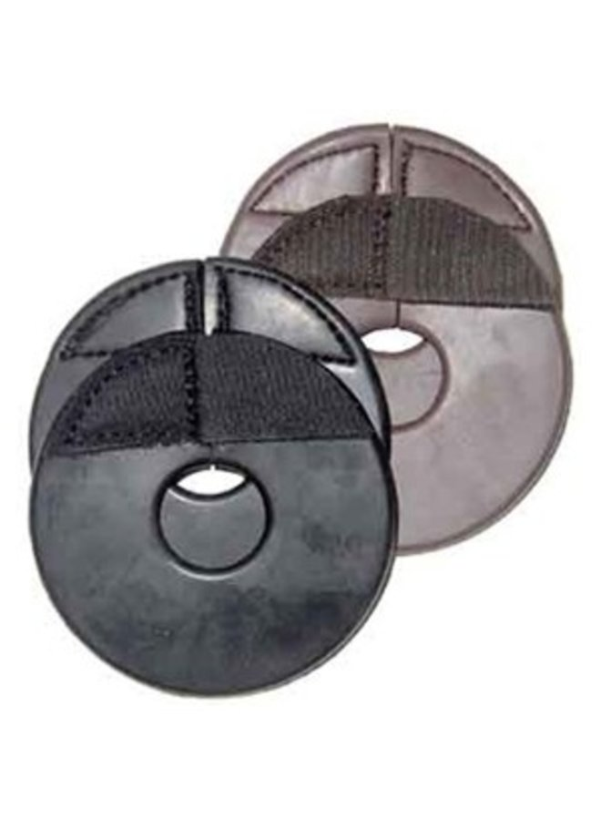Rubber bitring guards with velcro closure