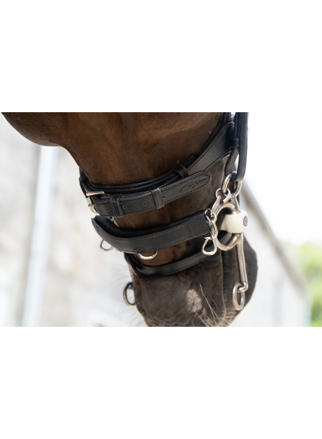 Leather Curb Chain Protector