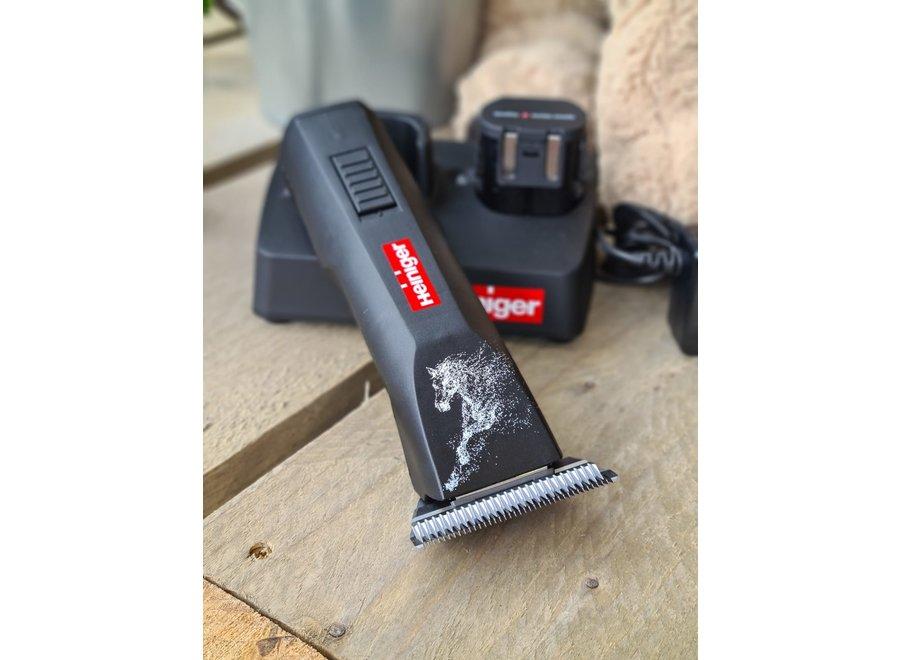Saphir horse clipper with wide clipper blade