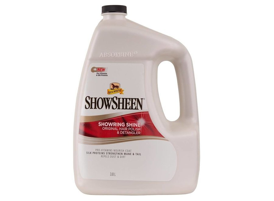 Showsheen glans en anti-klit spray voor paarden
