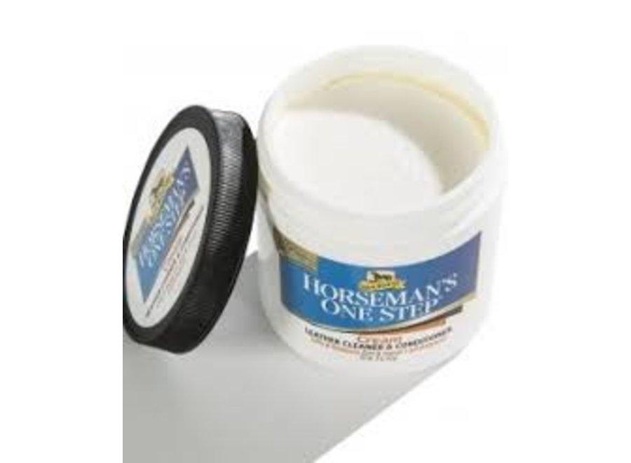 Horseman's One Step Cream: Lederreiniger & Conditioner