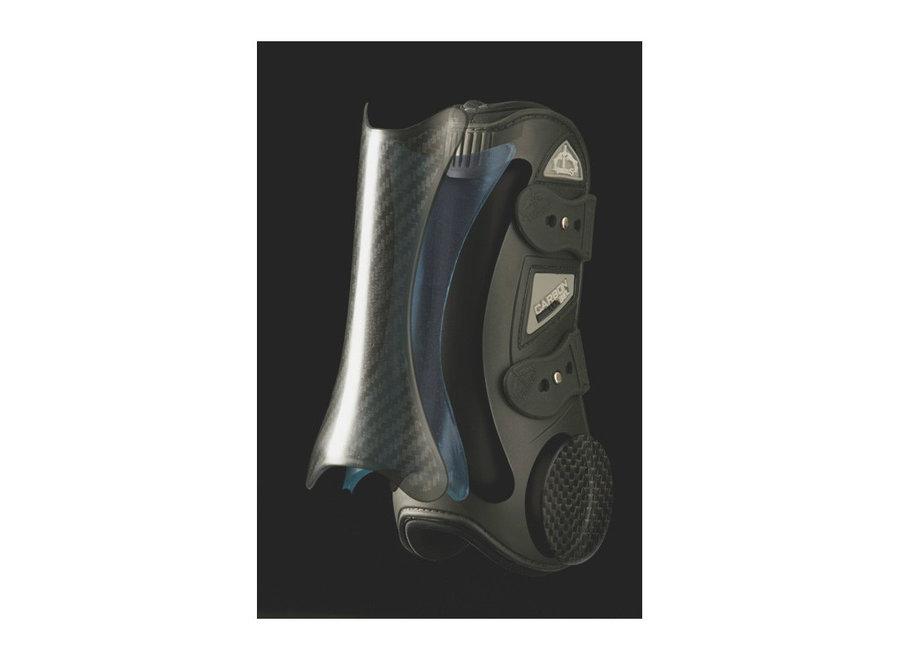 Peesbeschermer Carbon Gel X-PRO met extra kniebescherming