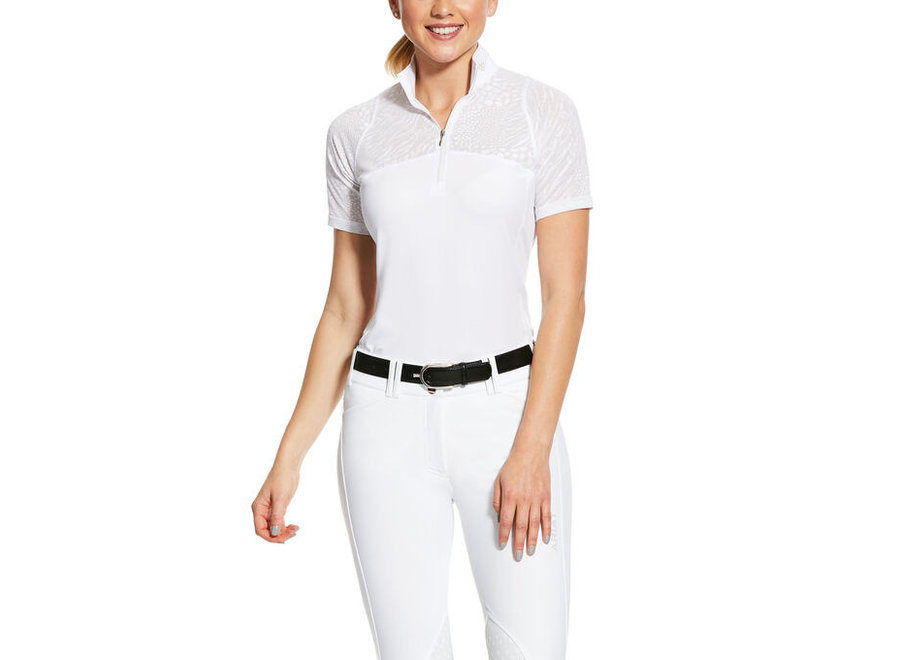 Dames Airway Show Shirt Wit