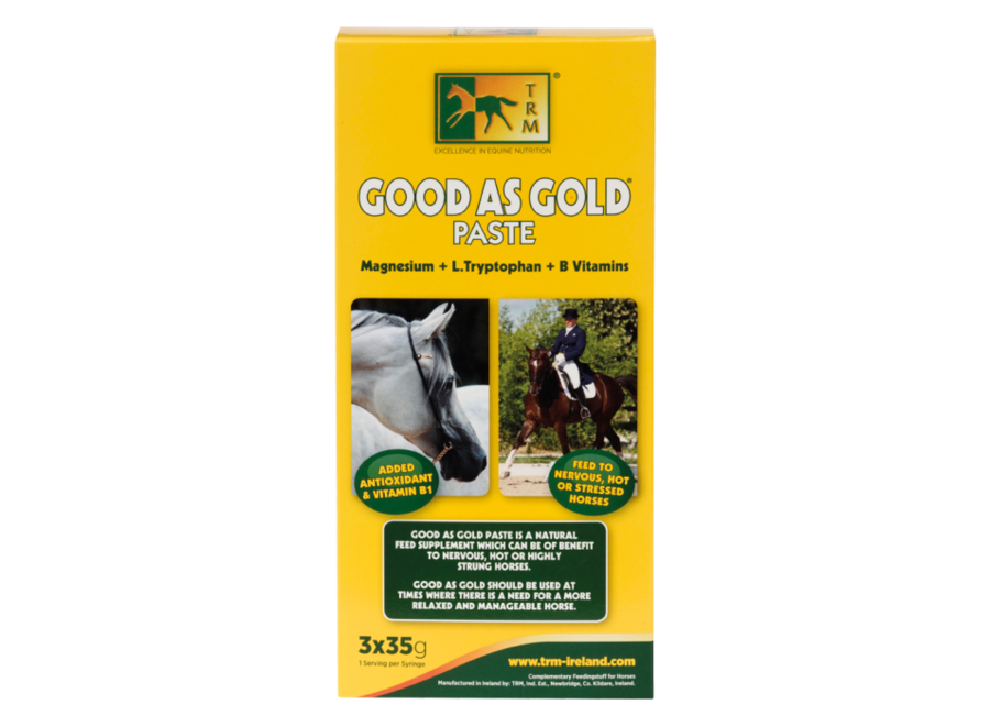 Good As Gold Paste 3 x 35 gram