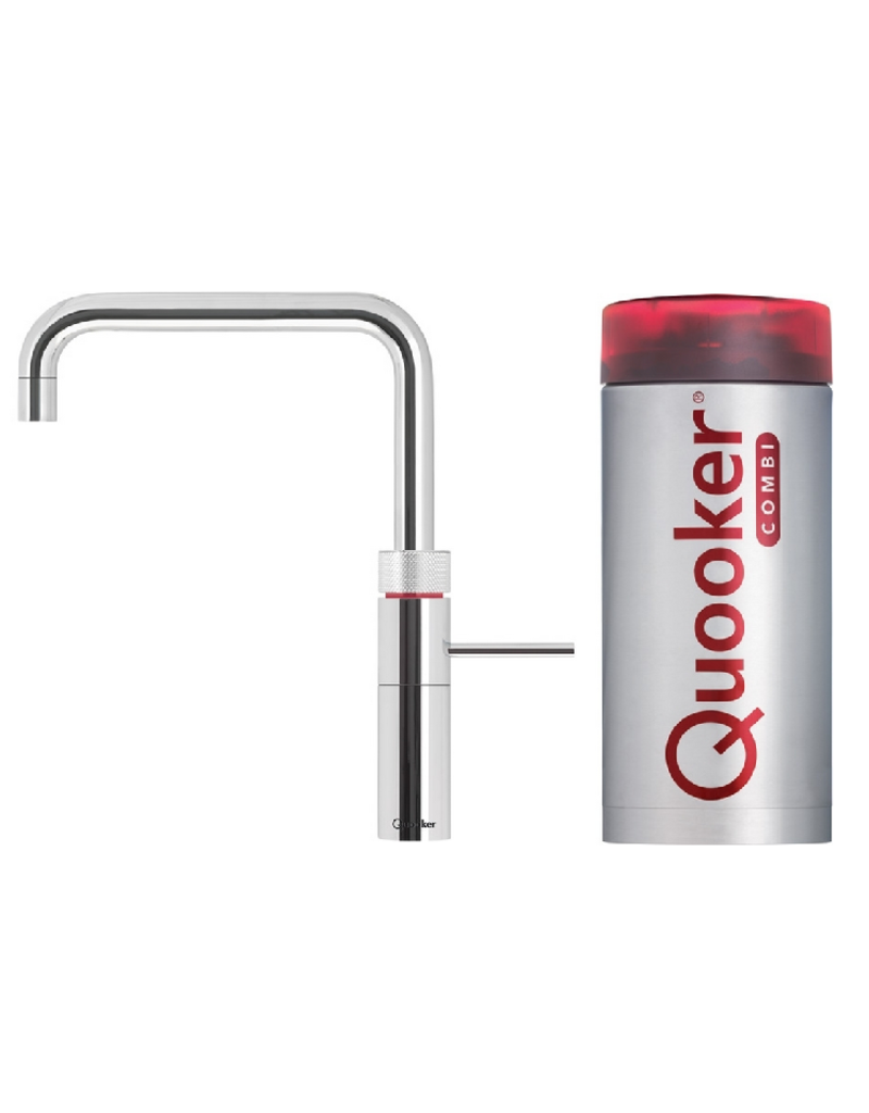 Quooker Quooker Fusion Square Chroom met Combi 2.2 reservoir