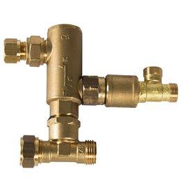 Inventum Mengventiel om van een Inventum Easy Comfort Solo boiler een Inventum Easy Comfort Combi boiler te maken