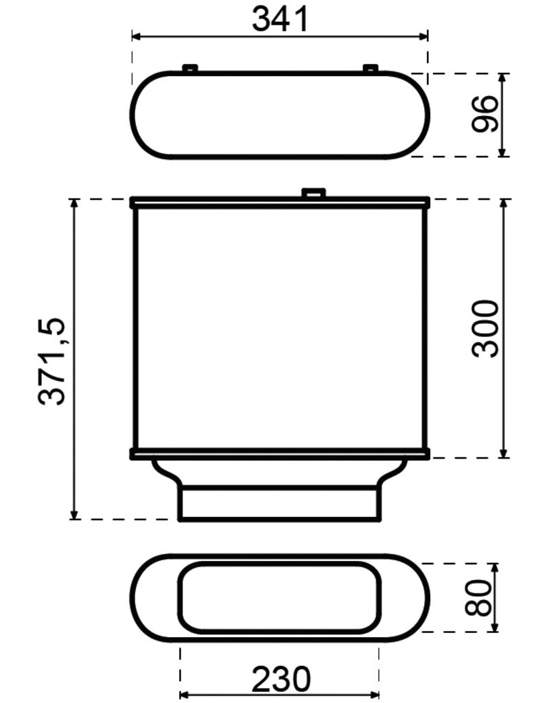 PlasmaMade Filter Platte filter 1000 m3/u