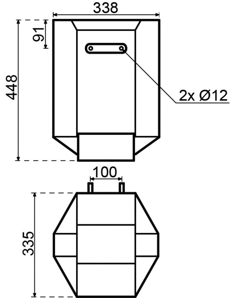 Inventum Q20 Keukenboiler