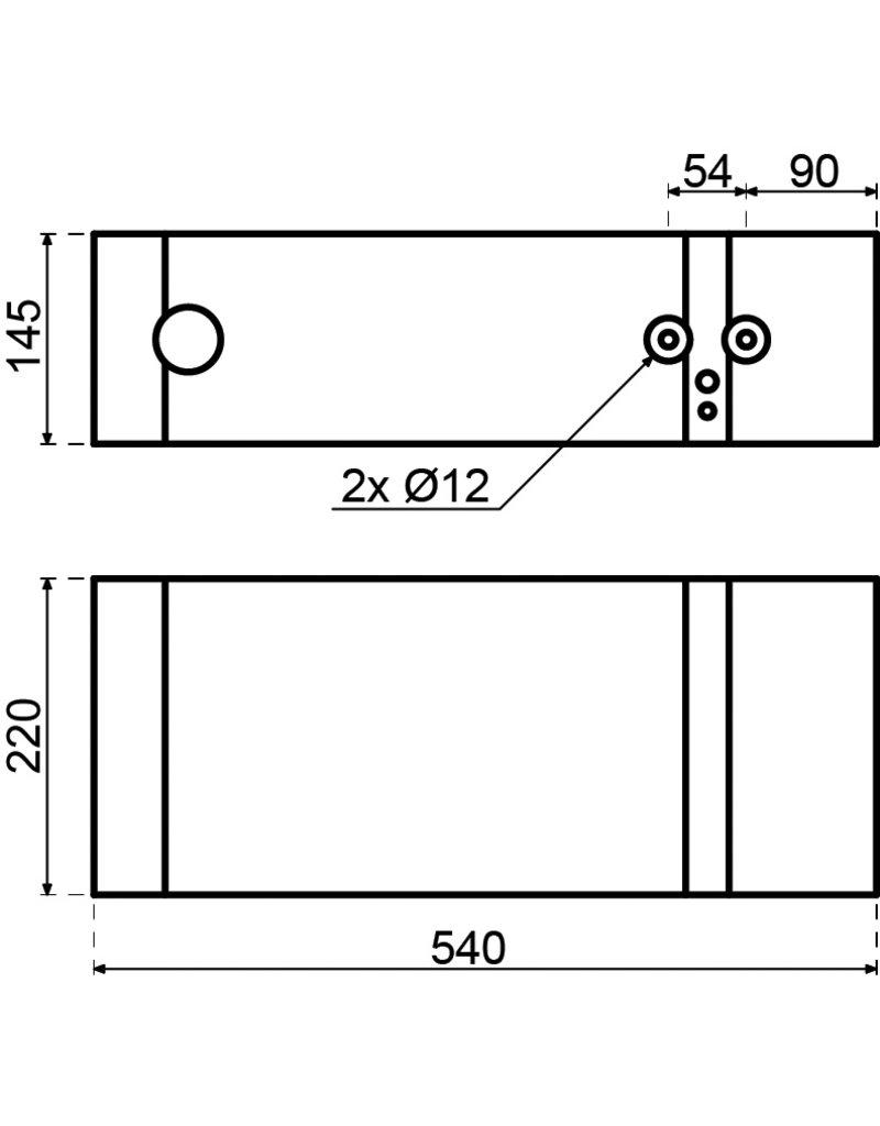 Inventum Inventum Q5 plintboiler