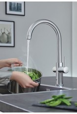 Grohe Grohe Red Duo Rond Supersteel met L-size boiler (30031DC1)
