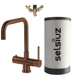 Selsiuz Selsiuz Haaks Copper / Koper met Combi (Extra) boiler