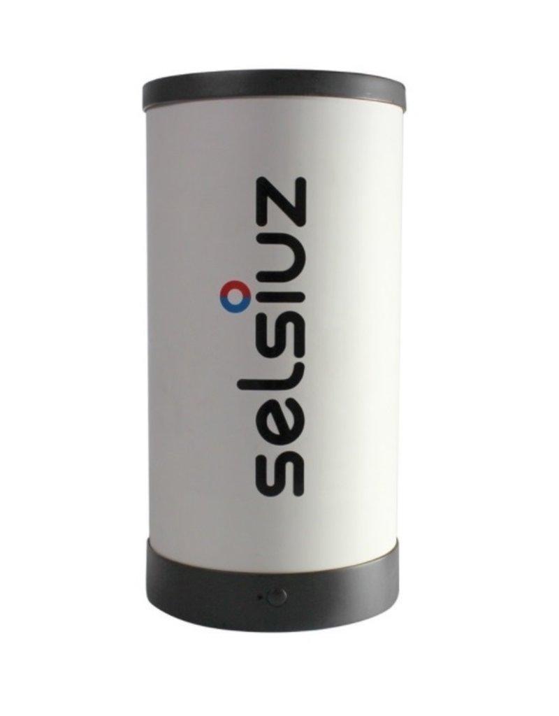 Selsiuz Selsiuz Rond Gun Metal Zwart met Single boiler