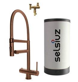 Selsiuz Selsiuz XL Copper met Combi boiler