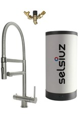 Selsiuz Selsiuz XL RVS (Inox) met Combi (Extra) boiler