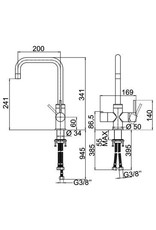 Selsiuz Selsiuz Haaks Chrome met Combi Extra (Combi+) boiler