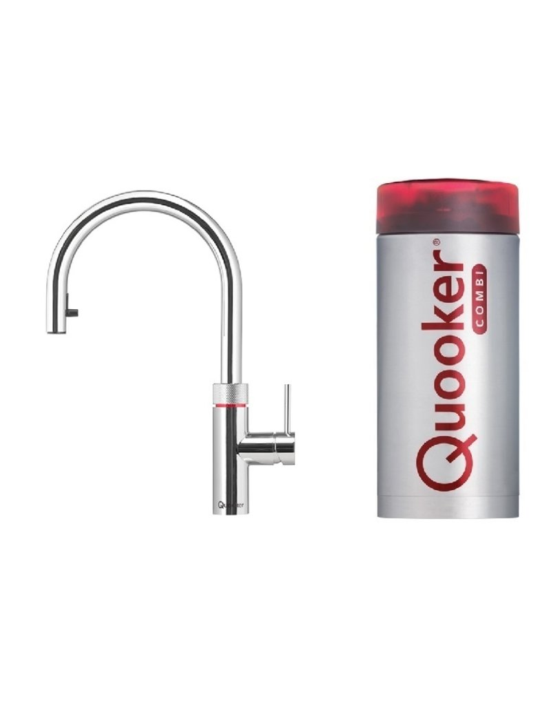 Quooker Quooker Flex Chroom met Combi 2.2 reservoir