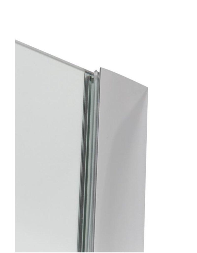 Linea Uno Inloopdouche Göteborg 90 x 200 cm met Nano Coating