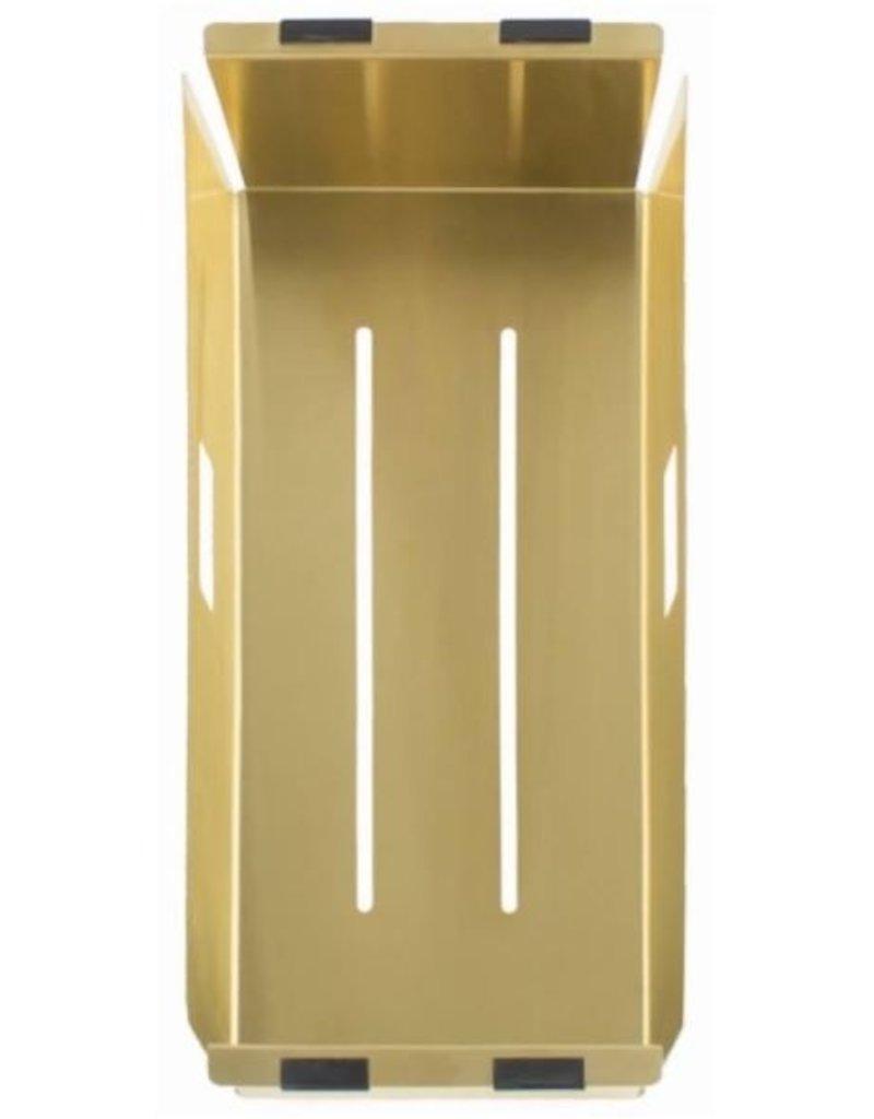 Lanesto Lanesto Urban Gold / Goud inzetbakje voor spoelbak