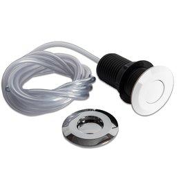 Insinkerator Vervangende Air switch en luchtslang voor InSinkErator voedselrestenvermaler voor modellen 45, 55, 65 en 75 met Air switch