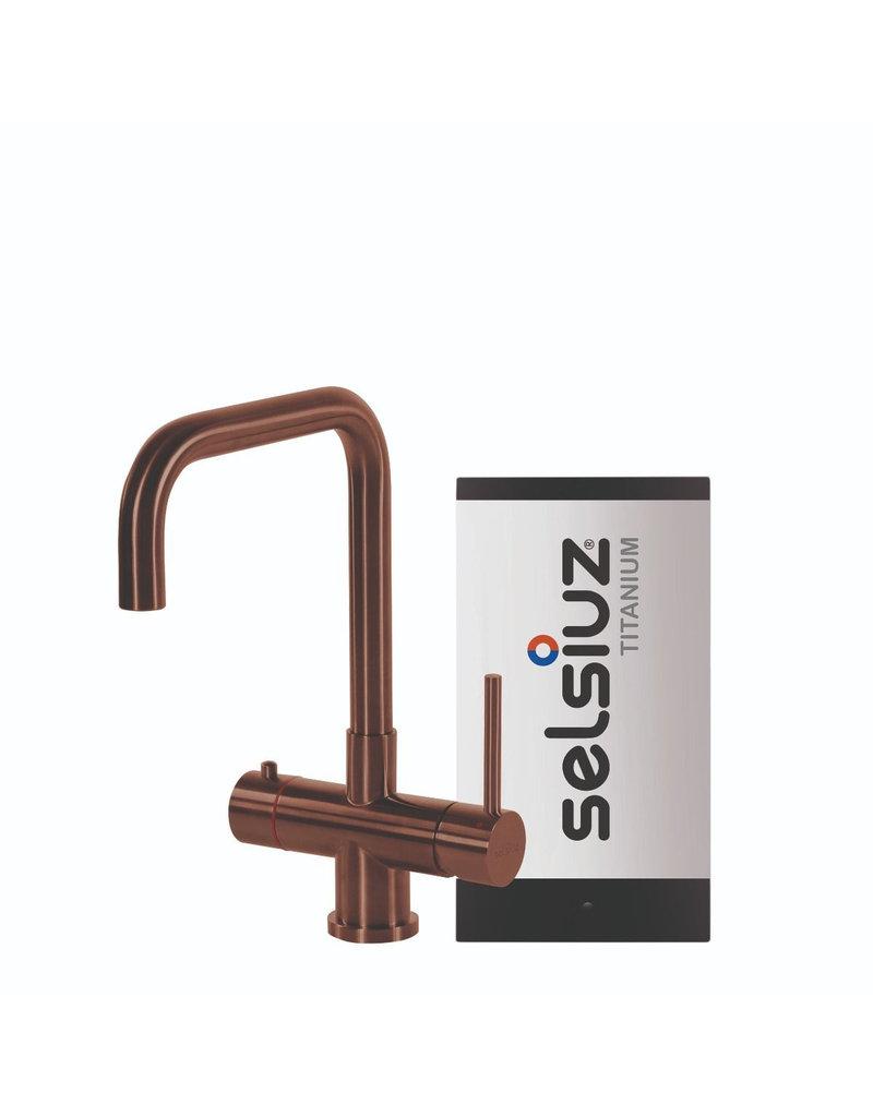 Selsiuz Selsiuz Haaks Copper / Koper met TITANIUM Single boiler
