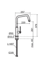 Gessi Gessi Mechanical Copper / Koper