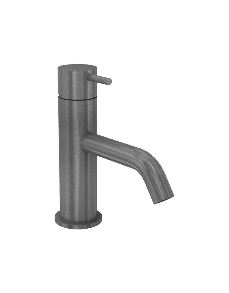 Waterevolution Waterevolution Qisani Flow opbouw wastafelkraan Gun Metal Zwart