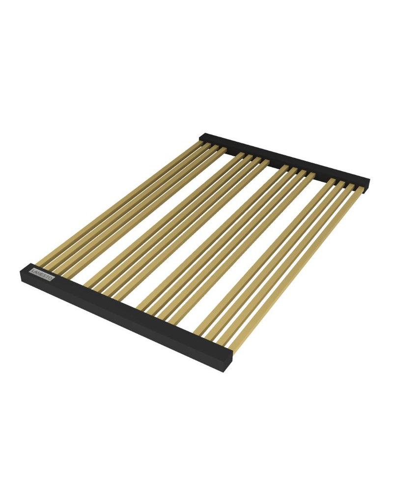 Lanesto Lanesto RVS pannenrooster Gold / Goud oprolbaar