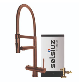 Selsiuz Selsiuz XL Copper met TITANIUM Combi boiler