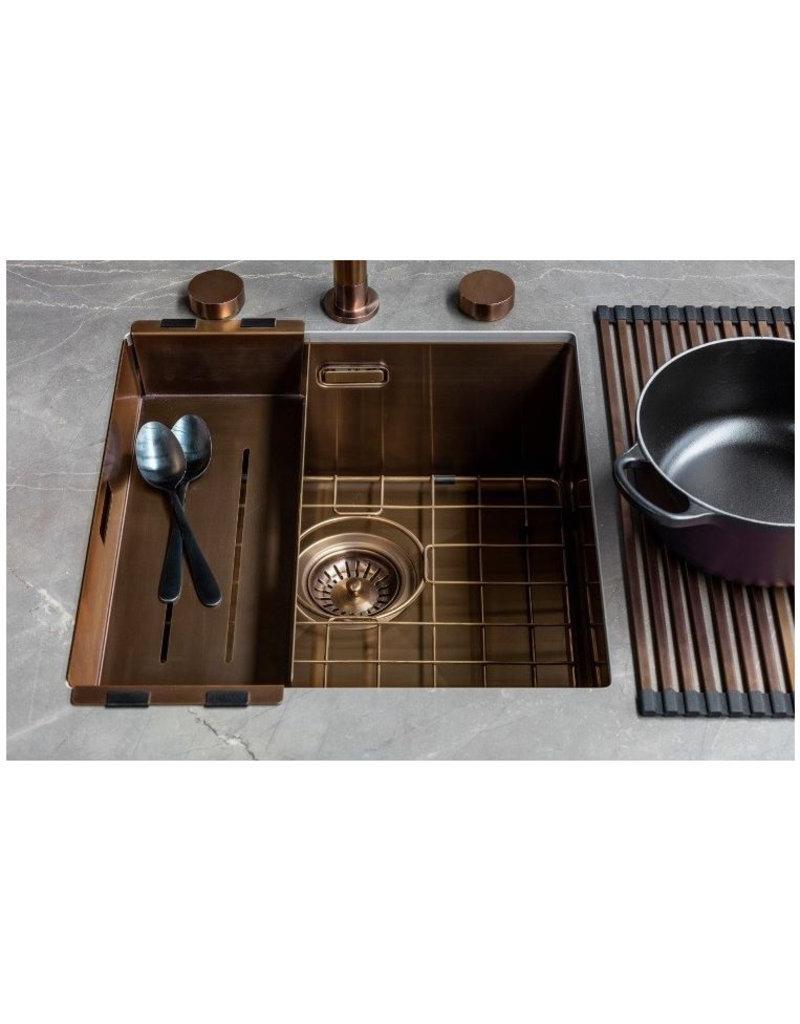 Lanesto Lanesto Urban Copper / Koper 615 50x40 spoelbak