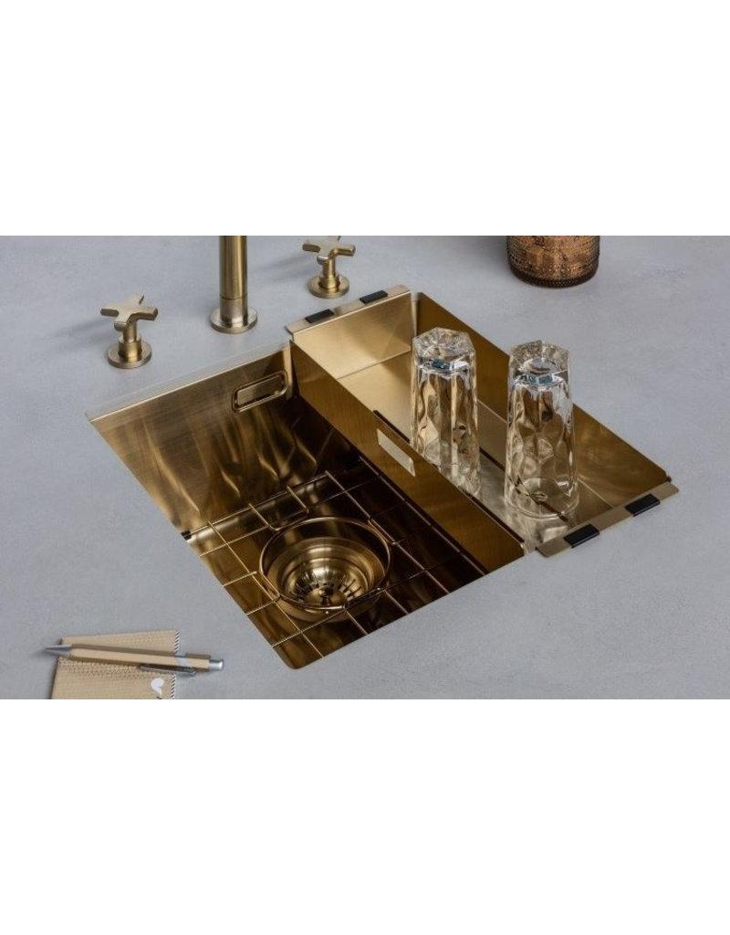 Lanesto Lanesto Urban Gold / Goud 615 50x40 spoelbak