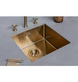 Lanesto Lanesto Urban Gold / Goud 613 40x40 spoelbak