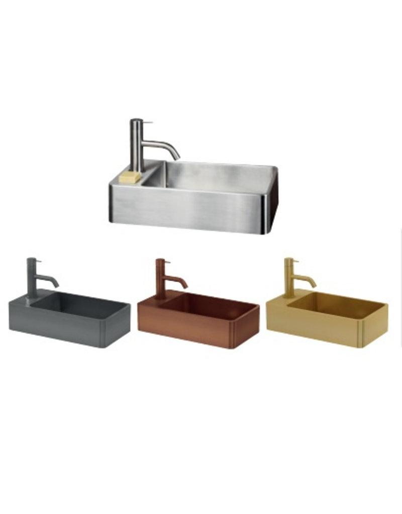Lanesto Lanesto Qisani Vanity fontein Gold / Goud, incl. plug