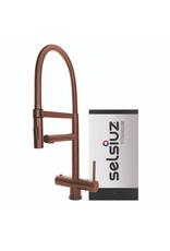 Selsiuz Selsiuz XL Copper / Koper met TITANIUM Single boiler