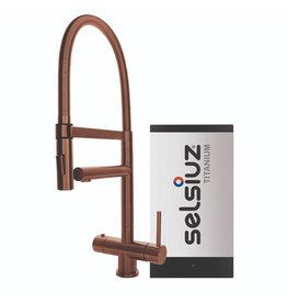Selsiuz Selsiuz XL Copper met TITANIUM Solo boiler
