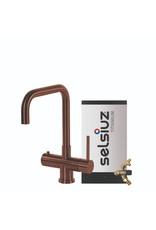 Selsiuz  Selsiuz Haaks Copper / Koper met TITANIUM Combi (Extra) boiler
