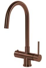 Selsiuz Selsiuz Rond Copper met TITANIUM Combi Extra (Combi+) boiler