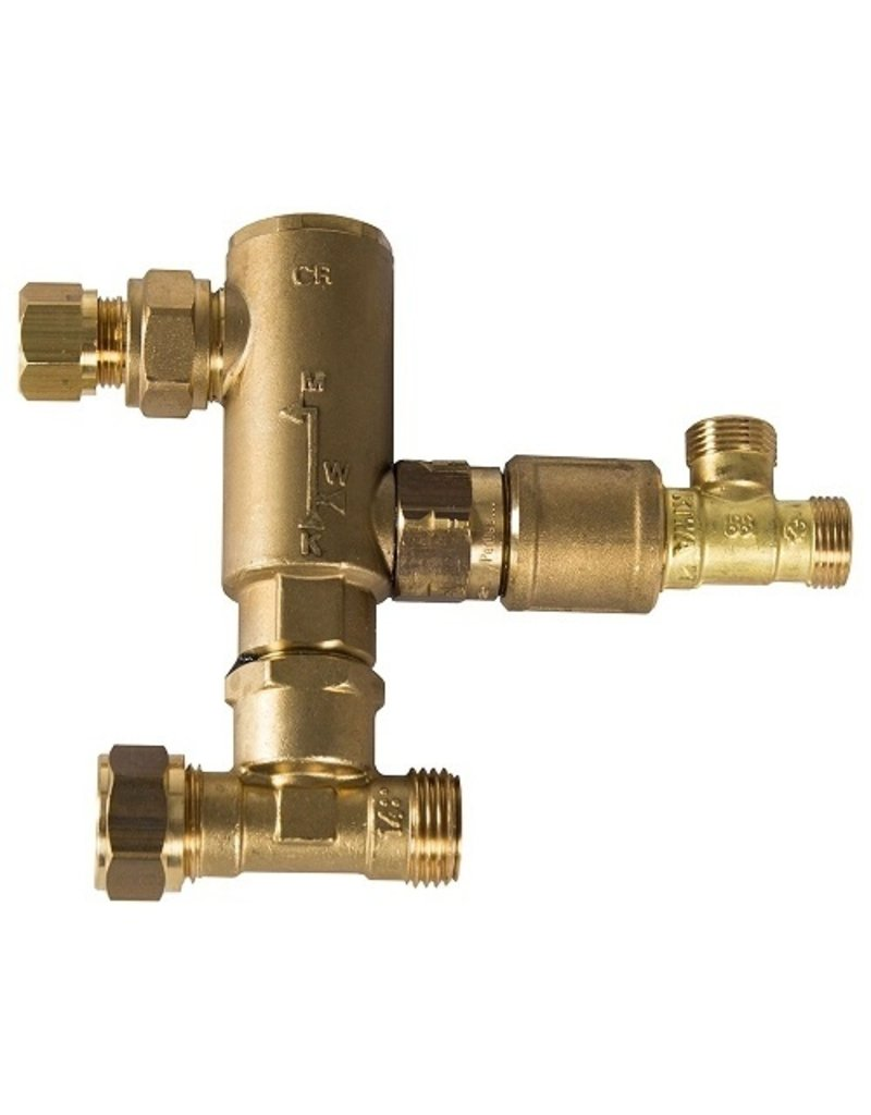 Selsiuz Selsiuz Haaks Gold met TITANIUM Combi boiler