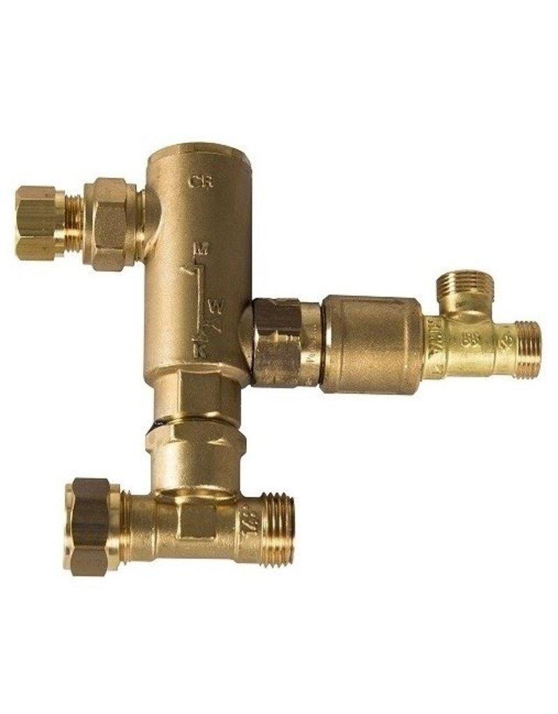 Selsiuz Selsiuz Rond Gold met TITANIUM Combi boiler