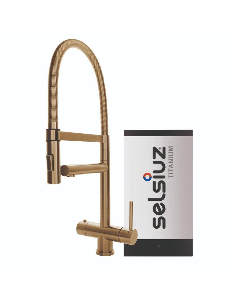 Selsiuz Selsiuz XL Gold / Goud met TITANIUM Single boiler