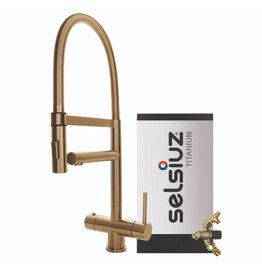 Selsiuz Selsiuz XL Gold / Goud met TITANIUM Combi (Extra) boiler