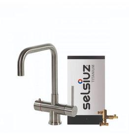 Selsiuz Selsiuz Haaks Inox (RVS) met Titanium Combi boiler