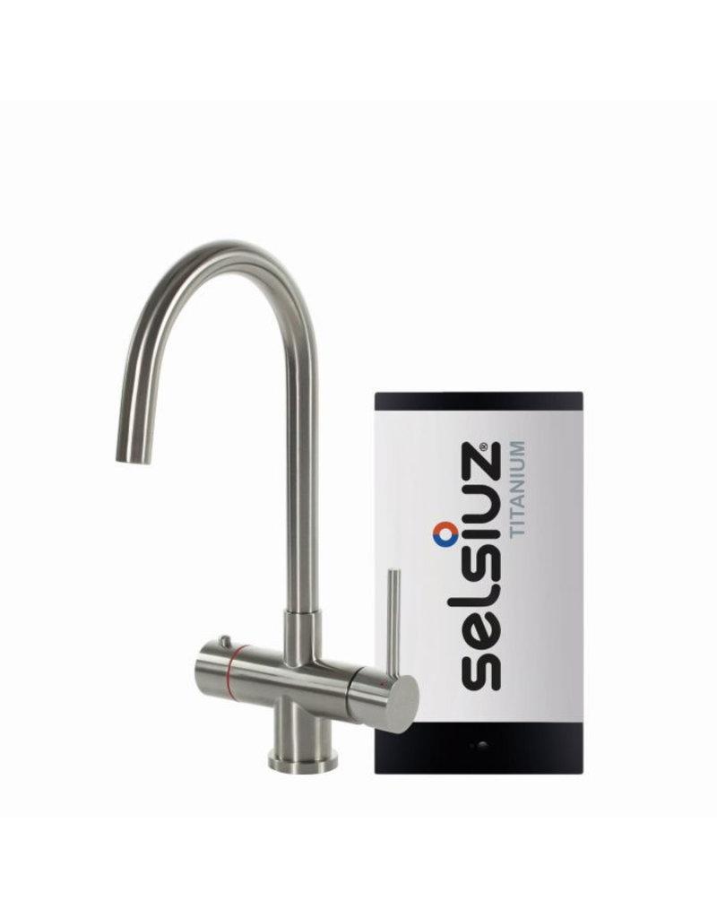 Selsiuz Selsiuz Rond Inox (RVS) met Titanium Solo boiler