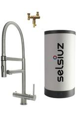 Selsiuz Selsiuz XL Inox (RVS) met TITANIUM Combi boiler